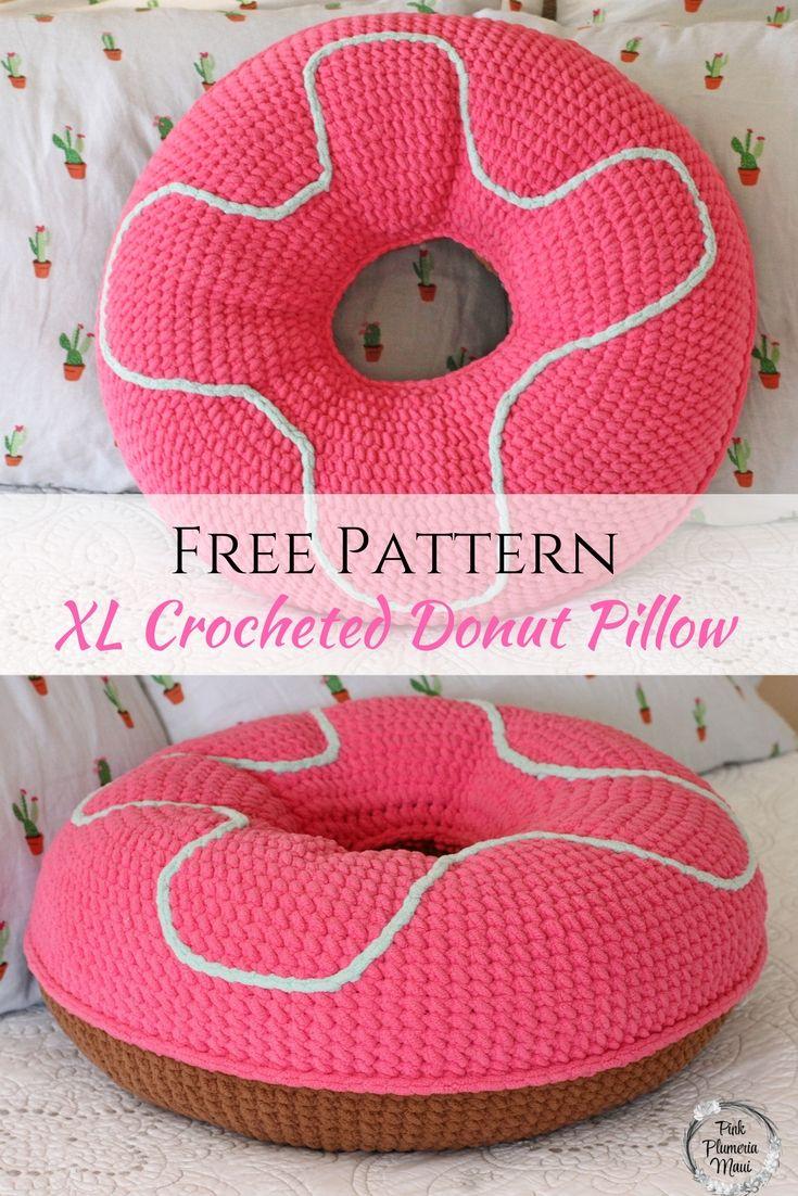 How To Crochet Amigurumi Donut - Crochet Tutorial | Croby Patterns ... | 1102x735