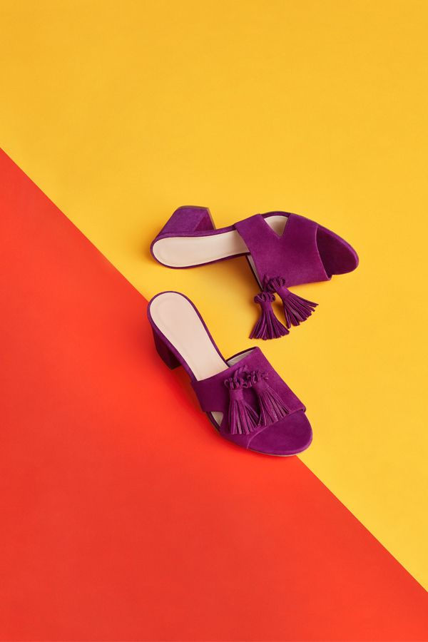 The new mule takes you from 9-5 to 5-9 with ease. Click to see the season's shoe trends.
