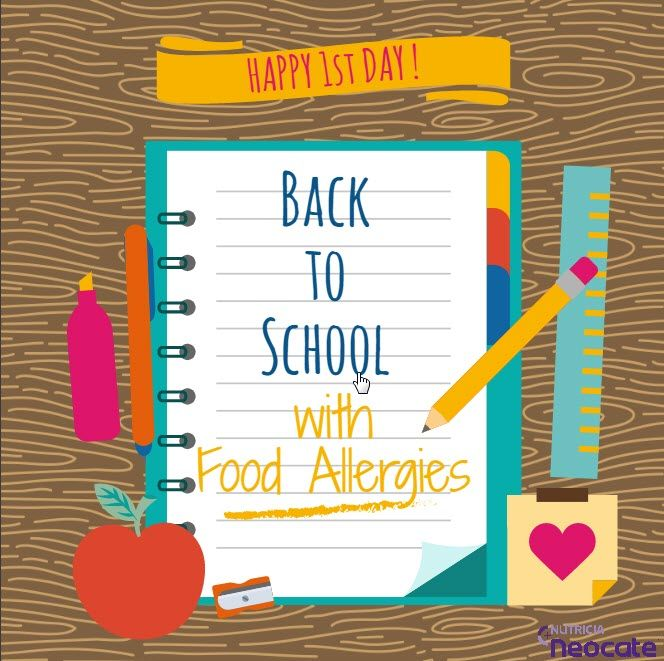 Summer is winding down and it's time to start helping your children prepare for their return to school.  Your school might have sent school supply lists, teacher assignments, and schedule of back to school nights. Now, it's time to create your own food allergy checklist