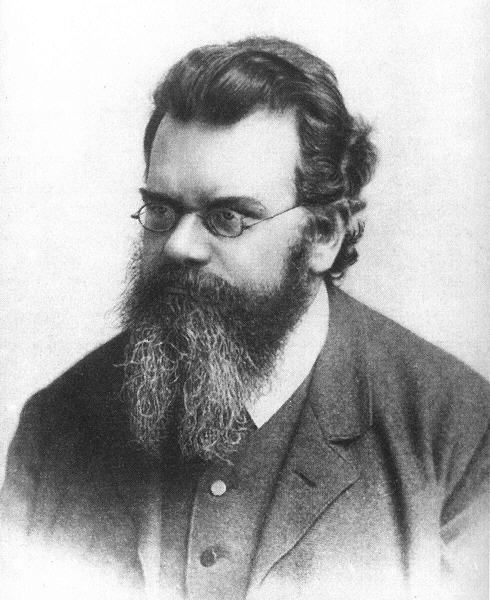 Ludwig Eduard Boltzmann (1844 – 1906) was an Austrian physicist and philosopher whose greatest achievement was in the development of statistical mechanics, which explains and predicts how the properties of atoms (such as mass, charge, and structure) determine the physical properties of matter (such as viscosity, thermal conductivity, and diffusion).