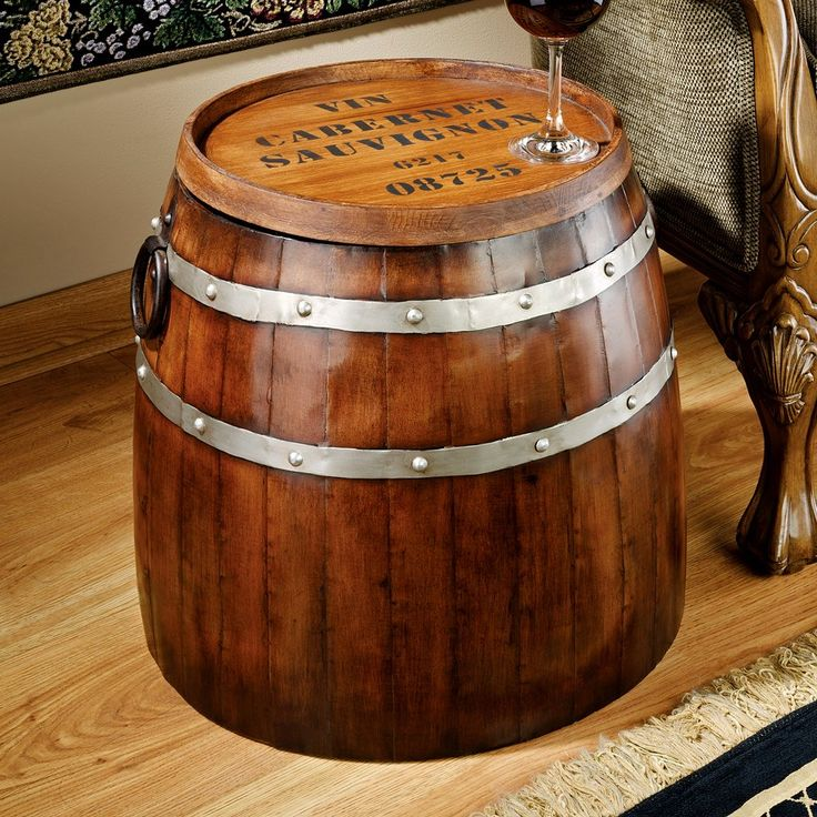 25 Best Ideas About Wine Barrel Coffee Table On Pinterest