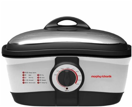 Win a Morphy Richards Intellichef Multicooker RRP £99t from Fuss Free Flavours!