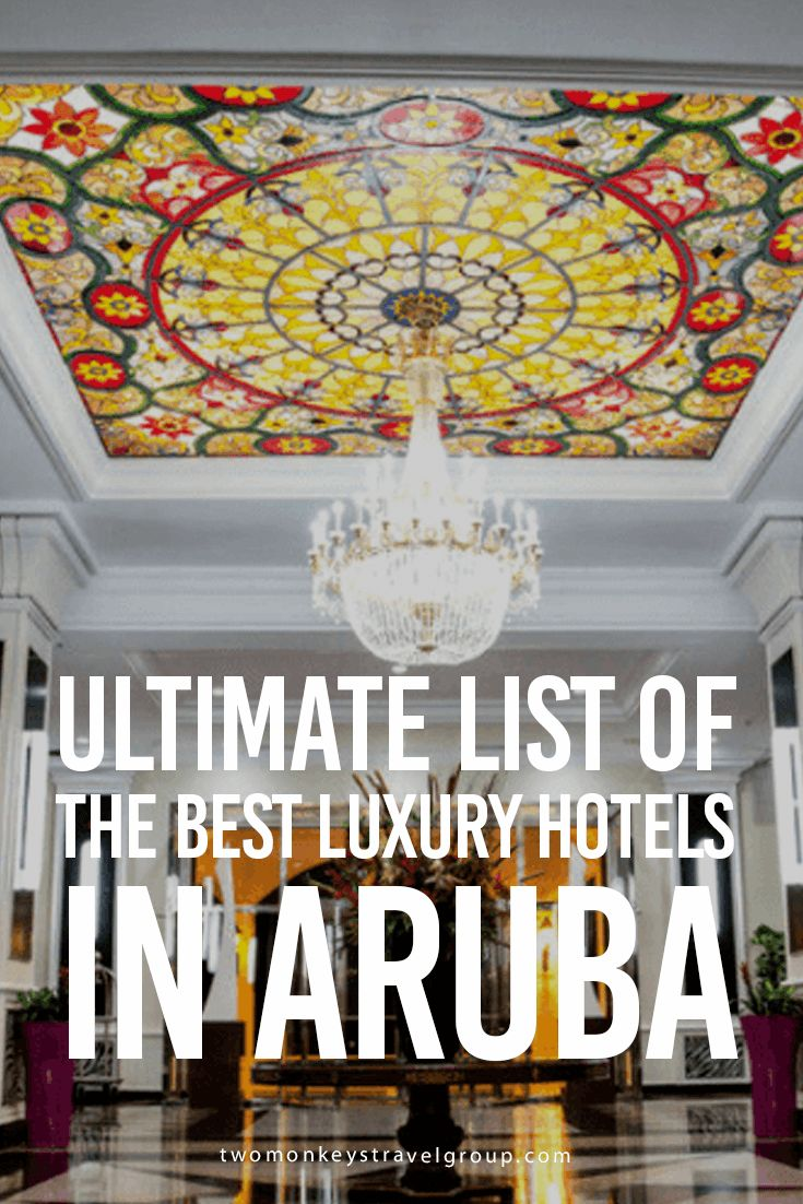 Ultimate List of the Best Luxury Hotels in Aruba THE BEST LUXURY HOTELS IN ARUBA are listed in this article to give you essential information on where to stay in this beautiful island country. This ultimate list gives you great reasons to stay in these hotels, from value for money, price range, location, amenities to satisfied guest reviews.