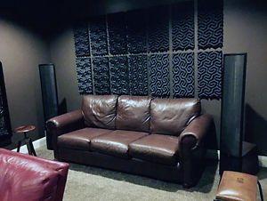 48sf-SoundTrax-Acoustic-Foam-Panels-24-tiles-2-x-12-x-24-Studio-Sound-Proof