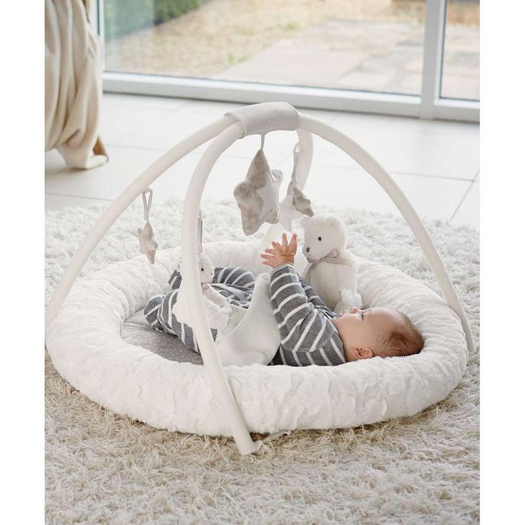 The Mamas & Papas My First Playmat & Gym is a fun playtime accessory…
