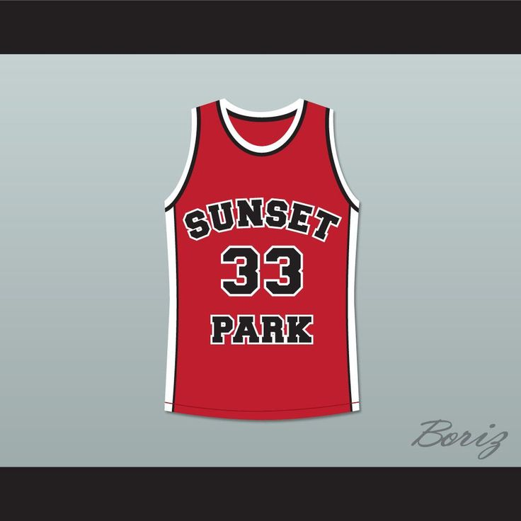 "Talent Harris Butter 33 Sunset Park Basketball Jersey. STITCH SEWN GRAPHICS  CUSTOM BACK NAME CUSTOM BACK NUMBER ALL SIZES AVAILABLE SHIPPING TIME 3-5 WEEKS WITH ONLINE TRACKING NUMBER Be sure to compare your measurements with a jersey that already fits you. Please consider ordering a larger size, if you prefer a loose fit. HOW TO CALCULATE CHEST SIZE: Width of your Chest plus Width of your Back plus 4 to 6 inches to account for space for a loose fit. Example: 18"" wide chest plus 18"" wide…"