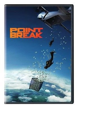 POINT BREAK (DVD) WS Widescreen Delroy Lindo Luke Bracey, Édgar Ramírez NEW