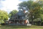 Sagamore Hill in Oyster Bay, Long Island NY, was the 'summer Whitehouse' of President Theodore Roosevelt.