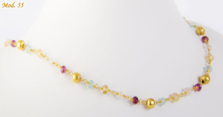 Collar oro turmalina Precio 49.000 carocortesi@gmail.com +56995489407