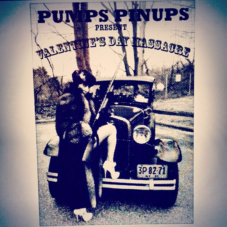 Pumps Pinups Show Flyer