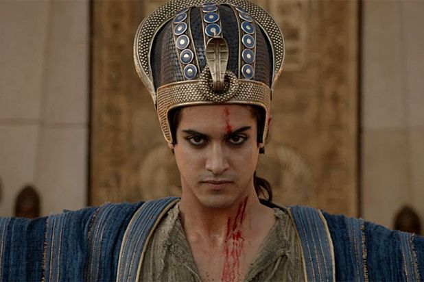 Ambitious Spike production sells the pharaoh as swashbuckling soldier-leader