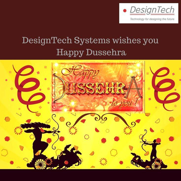 DesignTech Systems wishes you Happy Dussehra. May the forces of Good triumph over Evil #DesignTechSys #HappyDussehra #DurgaPuja #Dussehra #Vijayadashami