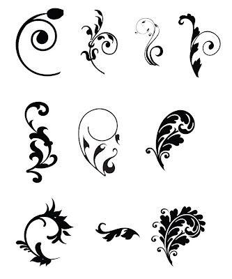Free SVG Cut File swirls