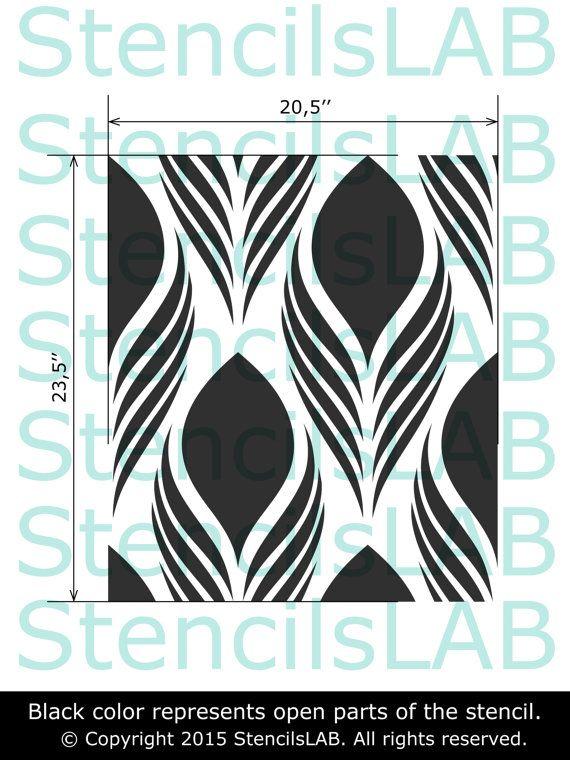 Las 25 mejores ideas sobre patrones de estarcido en - Plantillas de decoracion ...