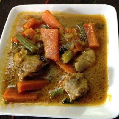 ANGLO-INDIAN RECIPES by Bridget White: ANGLO-INDIAN CHICKEN BUFAATH OR HOTCH POTCH STEW