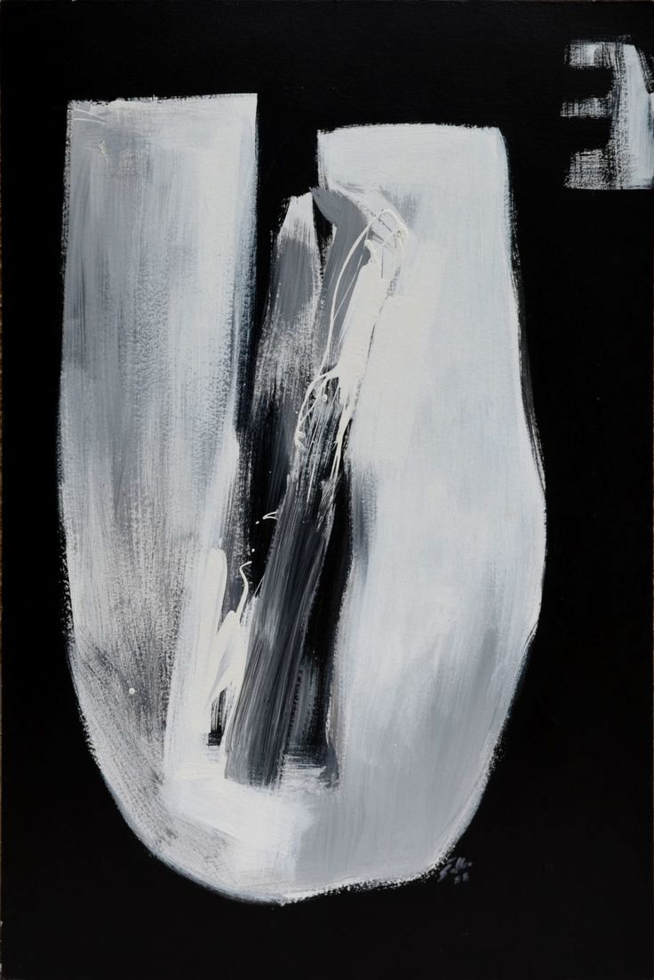 Stano Šalko - Priblíženie, akryl na kartóne, 120 x 80 cm, 1988