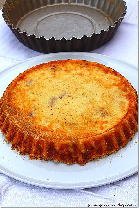 Panza & Presenza: La crostata di patate al salame  velocissima