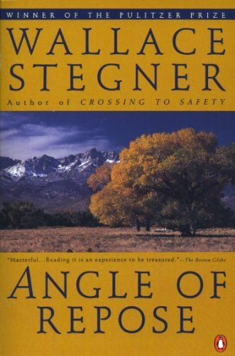 By Stegner Wallace - Angle of Repose (Contemporary American Fiction) (Reprint) (4/15/92) by Stegner Wallace http://www.amazon.com/dp/B00HTK1FZS/ref=cm_sw_r_pi_dp_xGm5tb0QHYGN6