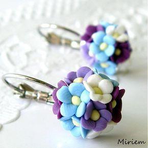 polymer clay flowers miriem / Vôňa kvetov mini
