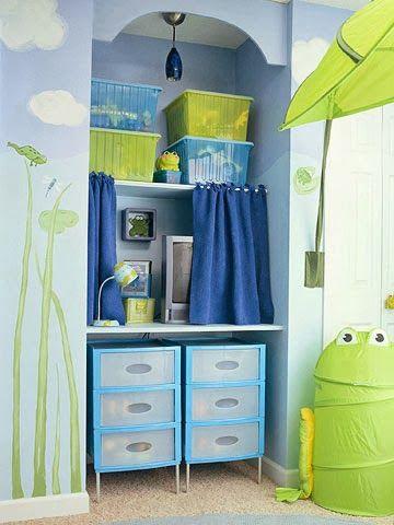 Beautiful Kids Room Organization Ideas