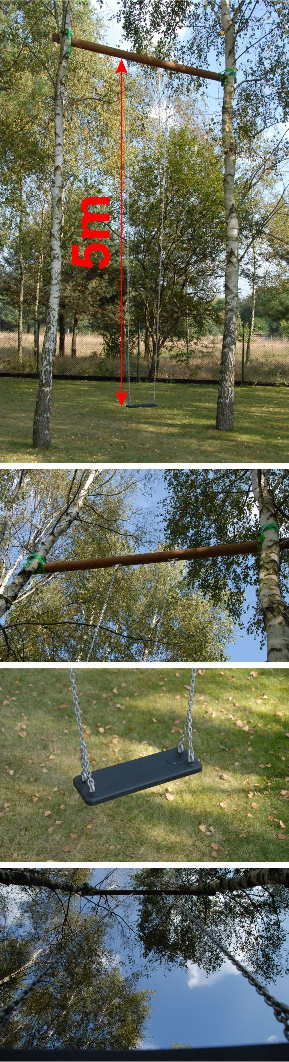 huśtawka 5m - swing 5m