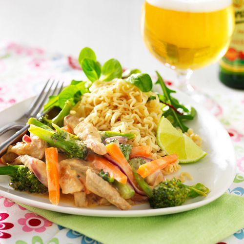 Recept på Currygryta med nudlar från - Hemmets Journal