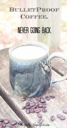 """My version of """"bulletproof coffee"""". Delicious and easy. I'm never going back."""