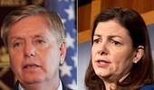 Senators Lindsey Graham and Kelly Ayotte