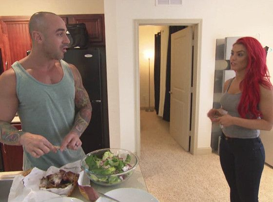 Eva Marie's Husband Convinces Her to Strip Down for Racy Photo Shoot—See the Total Divas Deleted Scene!  TD Clip