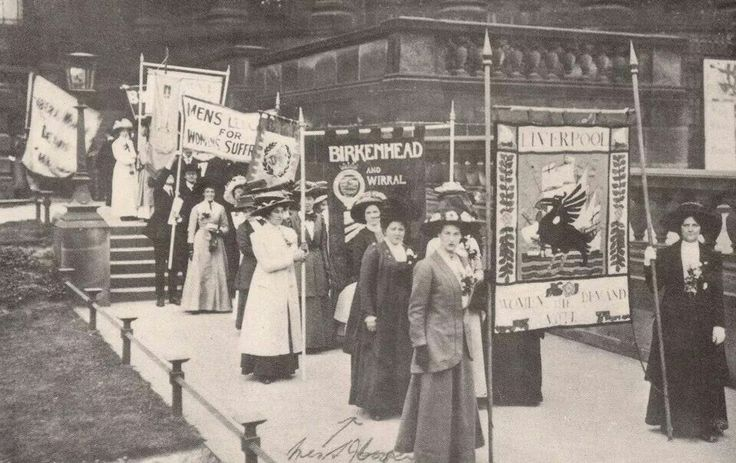 Suffragettes of Liverpool this is why i will always vote, what women had to go through for us women today