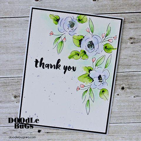 ALTENEW: Painted Flowers