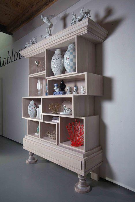 Story Cabinet by Maxim Vel?ovský