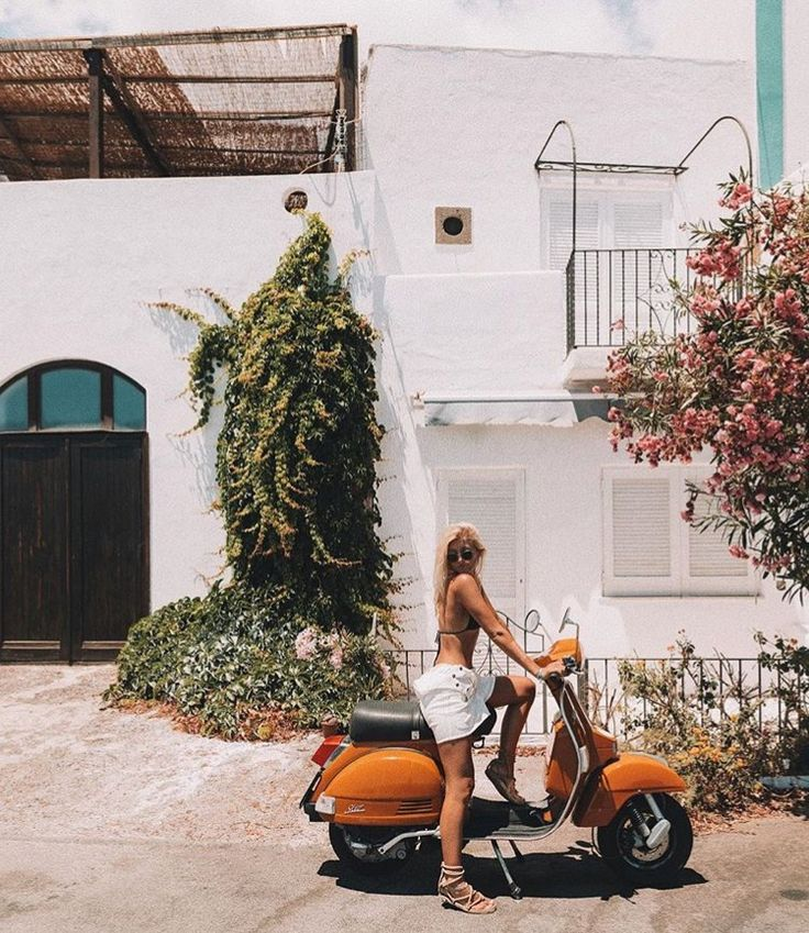 Europe | travel | summer | sun | scooters | motor bikes | explore | pictures | garden