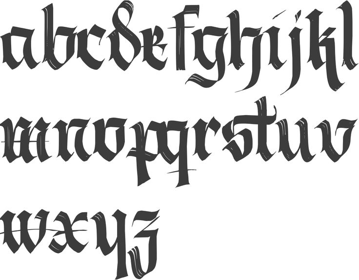MyFonts: Calligraphic typefaces