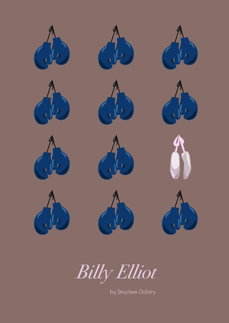 Billy Elliot (2000) ~ Minimal Movie Poster by Daria Shubina #amusementphile