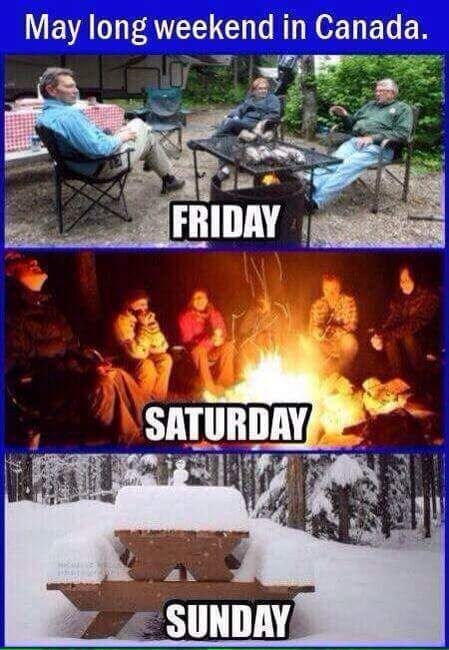 This long weekend in Canada