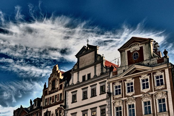 Old City Houses in Prague