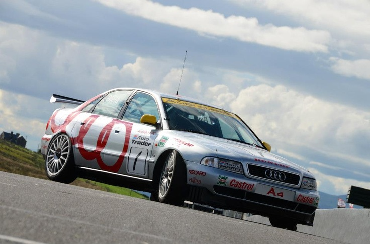 The legendary Frank Biela BTCC Audi A4 returns to Knockhill