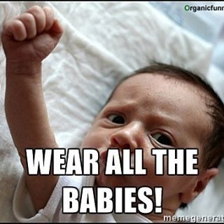 https://www.vonvavoom.nl/en/blogs/draagdoek-informatie-draagzak-von-va-voom/will-babywearing-ever-rule-the-world/  #babywearing #babywearingquote #wearallthebabies #babywearingrulestheworld #babywearingrules #babydragen #babytragen #babycarrier #wovenwraps #carrier #draagzak #tragehilfe #draagdoek #tragetuch #sling #ringsling #babydragen #attachment #attachmentparenting