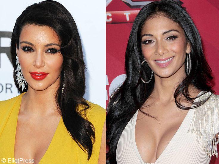 Kim Kardashian et Nicole Scherzinger (des «Pussycat Dolls»)