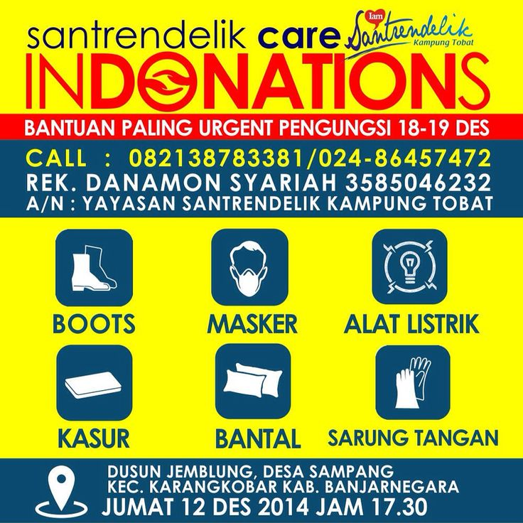 Santrendelik indonation for banjarnegara