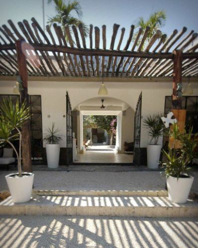 Teetotum Hotel - favorite boutique hotel in Tulum, Mexico.  so chill