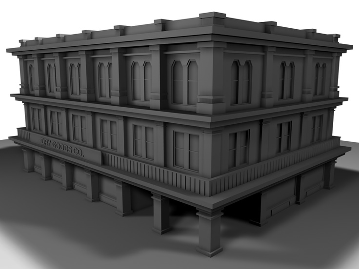 3D building sketch