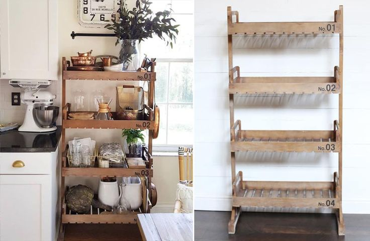 Wood, Bookcase, Wooden Book Shelf, Box Shelf, Four Tier, 4 Tier, Rustic, Distressed, Antique, Vintage, Farmhouse and Barnyard Decor, Home and Garden, Planter, Rack, Stand