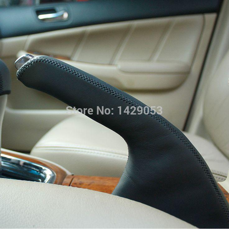 Ручной тормоз захваты чехол для Honda ACCORD 7 ручной тормоз обложка из натуральной кожи внутренняя отделка DIY для укладки поставки