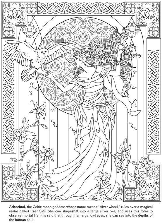 200 best coloring pages images on pinterest | coloring books ... - Art Nouveau Unicorn Coloring Pages