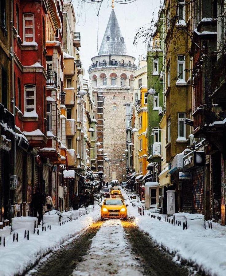 Galata Kulesi, İstanbul.