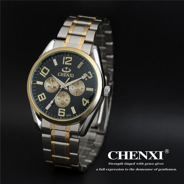 Get yourself an eye-catching time piece to make sure that even on busy days, you never lose track of the time www.shoppingwishes.com men Quartz watch