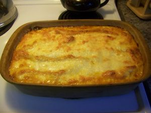 Gordon Ramsay's Lasagne recipe - by far the best dish I've ever cooked
