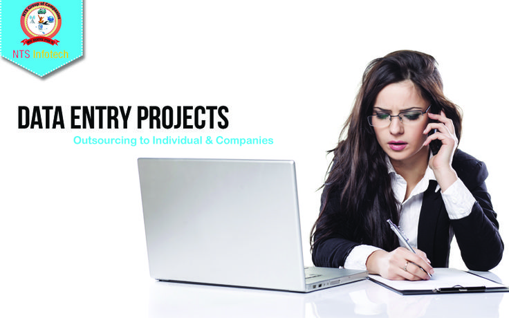 We outsource Data Entry Projects to Individual & Companies. For more visit http://www.ntsinfotechindia.com/